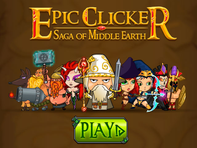 Epic Clicker Saga of Middle Earth